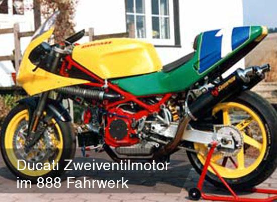 Ducati Zweiventilmotor Projekte Titel